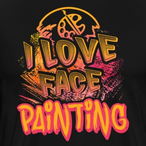 I LOVE FACE PAINTING SHIRT