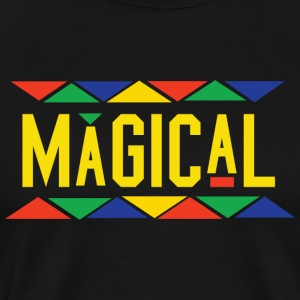 Magical Tribal Design (Yellow Letters)