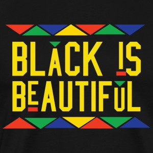 Black Is Beautiful (Yellow Letters)
