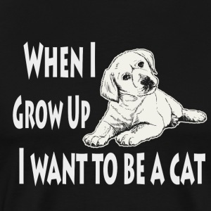 When I Grow Up I Want To Be A Cat Funny Quotes Tote Bag Spreadshirt