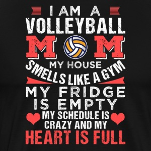 Im A Volleyball Mom My Heart Is Full