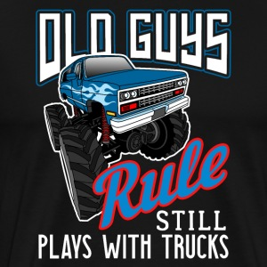 Old Guys 4x4 Rule Still Play With Trucks Off Road
