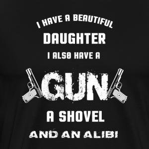 Gun - I also have a gun a shovel and an alibi
