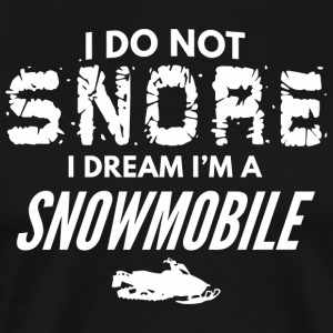 Snowmobile - Funny Snore Like a Snowmobile Snor