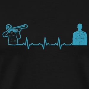 Heartbeats Shooting Range Love T-shirt