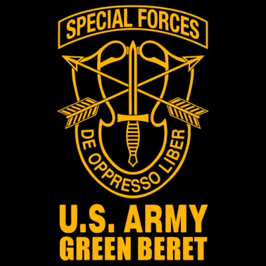 6f6398d2674ff US Army Green Beret Special Forces - Men s Premium T-Shirt