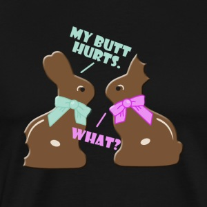 Funny Cute Chocolate Bunny