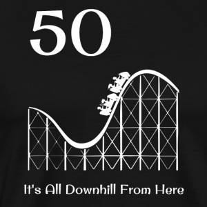 50th Birthday Downhill Roller Coaster