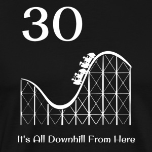 30th Birthday All Downhill Rollercoaster