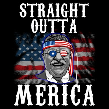 Theodore Roosevelt 4th Of July - Men s Premium T-Shirt a66ddea24401