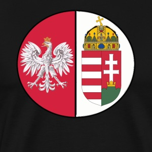 Polish hungarian mixed heritage national design