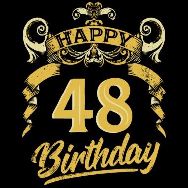 51 Years Birthday Happy Bday Birthday Gift Present Mens Premium T