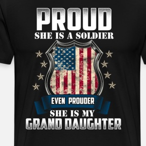 Proud She Is A Soldier My Granddaughter Military