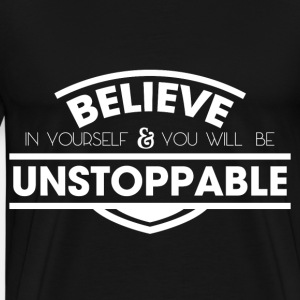 Student Believe Unstoppable Spirit White Cool Gift