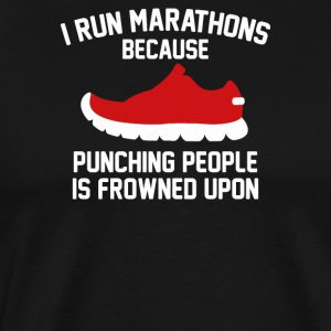 New Design I Run Marathons Top Seller