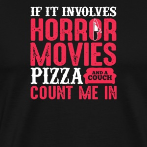 If It involves horror movies pizza and a couch cou