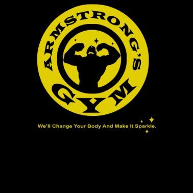 9872e4d1332 Armstrong s Gym - Men s Premium T-Shirt