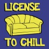 License to chill - Men's Premium T-Shirt