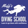 Muff's Diving School. Go down with confidence - Men's Premium T-Shirt