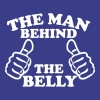 The Man Behind The Belly - Men's Premium T-Shirt