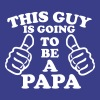 This Guy Is Going To Be A Papa - Men's Premium T-Shirt