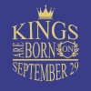 Kings are born on September 29 - Men's Premium T-Shirt