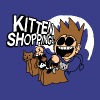 EDDSWORLD KITTEN SHOPPING - Men's Premium T-Shirt