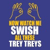 Now Watch Me Swish  Splash Brothers - Men's Premium T-Shirt