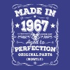 Made in 1967 - Aged to perfection - Men's Premium T-Shirt
