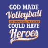 God made volleyball players - Men's Premium T-Shirt