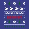 Snowmobile Snowmobiler Ugly Christmas Sweater Xmas - Men's Premium T-Shirt