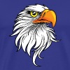 Eagle - Bird - Patriotic - Men's Premium T-Shirt