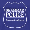 Grammar Police. To Correct and Serve - Men's Premium T-Shirt