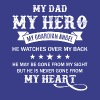 My Dad My Hero Guardian Angel Dad T Shirt - Men's Premium T-Shirt