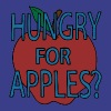 Hungry For Apples by Jerry Smith - Men's Premium T-Shirt