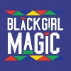 Black Girl Magic - Tribal Design (White Letters) - Men's Premium T-Shirt