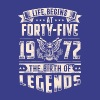 Life Begins At Forty Five Tshirt - Men's Premium T-Shirt