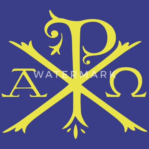 Chi Rho Symbol By Tradcat Spreadshirt