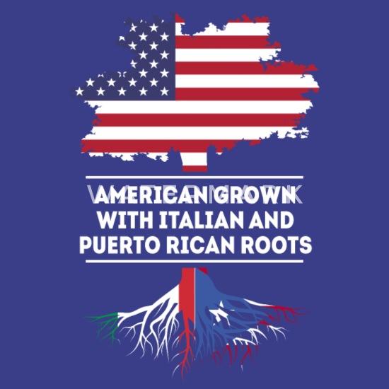 Puerto Rico Flag Colors Font Rican Soccer Heritage PRI Men/'s V-Neck Ringer Tee