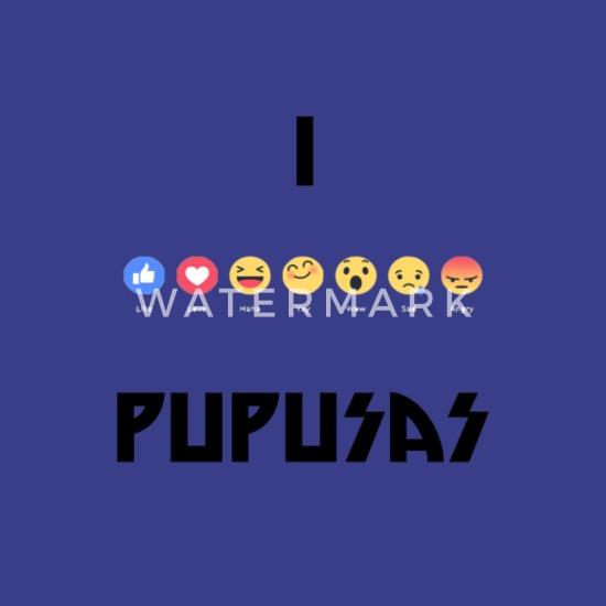 6659af84e7ff3 i love pupusas Men's Premium T-Shirt | Spreadshirt