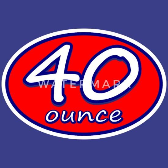 40 Ounce Racer Skate Logo Skate/Surfwear Men's Premium T