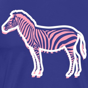 A Young Zebra - Men's Premium T-Shirt