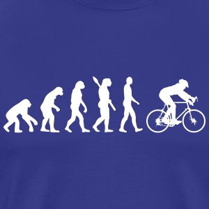 Bicycle Bike Tour Sport Cyclist Cycling Mountain - Men's Premium T-Shirt