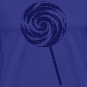 Retro Lolly - Lollypop Design - Men's Premium T-Shirt