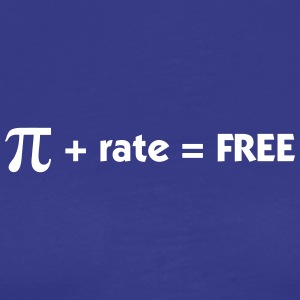 Pi Rate = Free - Men's Premium T-Shirt