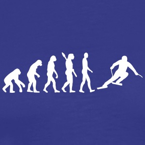 Evolution I Love sport fan cool gift joke art idea - Men's Premium T-Shirt