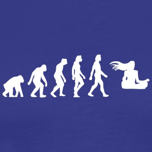 The Evolution Of A Guru - Men's Premium T-Shirt