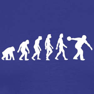 The Evolution Of Bowling - Men's Premium T-Shirt