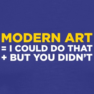 Modern Art - Men's Premium T-Shirt
