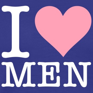 I Love Men! - Men's Premium T-Shirt
